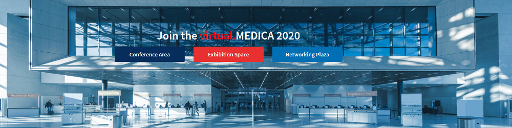 MEDICA and COMPAMED werden virtuell